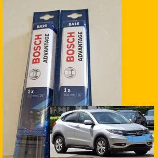 Bosch Wipers for Honda Vezel HRV $11