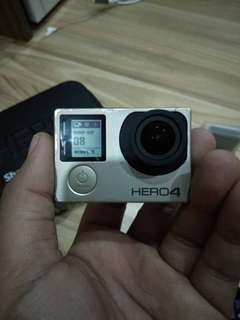 Gopro hero 4 dengan remote asli
