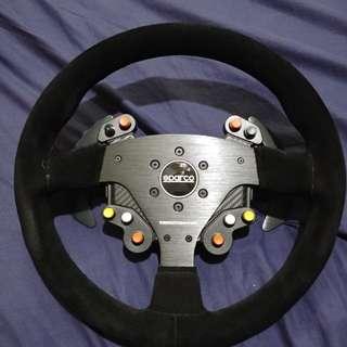Thrustmaster sparco r383 rally wheel rim