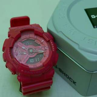 G-Shock Limited Edition Hyper Pink Negotiable