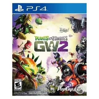 (Brand New Sealed) PS4 Game Plant VS Zombie Garden Warfare 2