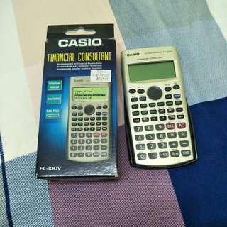 FC-100V Casio Financial Calculator