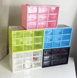 Brand new 9 drawers multi usage organizer