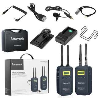Saramonic VmicLink5 HiFi (TX5+RX5) 5.8GHz Wireless Wireless Microphone System
