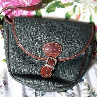 Tas kulit asli BERRE original italy 90% ok condition 😊