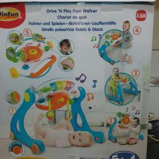 Drive N Play Gym Walker