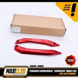 Xmax nmax lock winshield mount bracket cnc