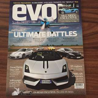 Evo Singapore September 2011 issue