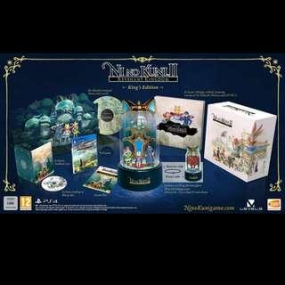Ni No Kunis II Revenant Kingdom Collector's Edition Preorder