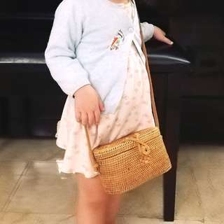 Little Girl's Boxy Bag
