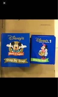 迪士尼 Disney's World of English ~ Step by Step [12 Dise]