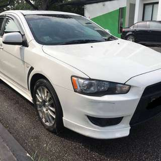 Mitsubishi Lancer GT 2.0A with sunroof