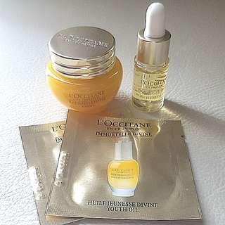 New Loccitane Immortelle Divine Skincare Set