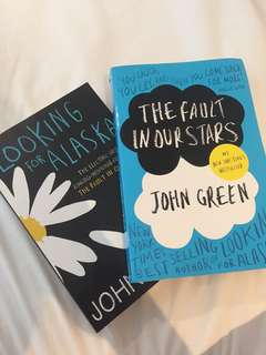 2 John Green Books