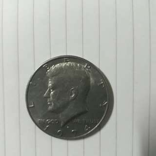 1974 Kennedy Half Dollar Coin
