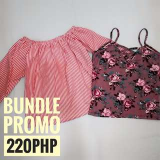 Bundle Promo for 220php
