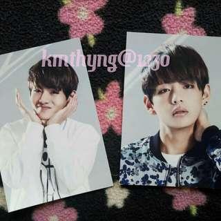 BTS V/Kim Taehyung Rare Postcards/Photocards