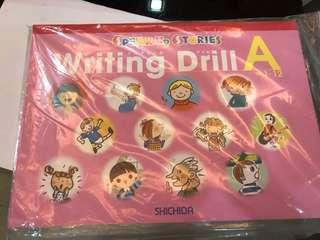 Shichida writing drills for speak up story