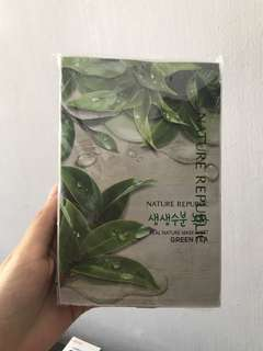 x9 Nature Republic Mask Sheets Green Tea