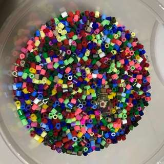 Assorted Pyssla Beads - 5mm
