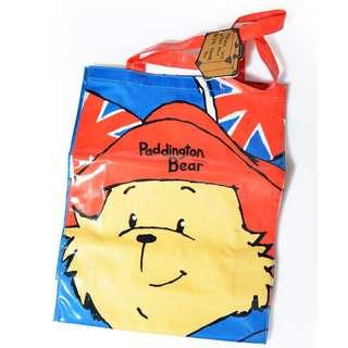 Paddington bear bag shopping reusable tote supermarket market