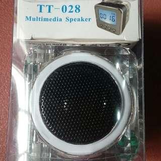 Mini Speaker with FM Radio