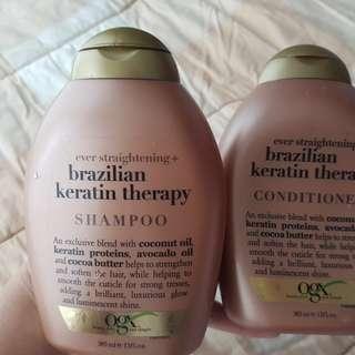 Ogx shampoo and conditioner
