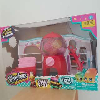 Shopkins Food Fair / Shipkins Sweet Spot / Candy cart