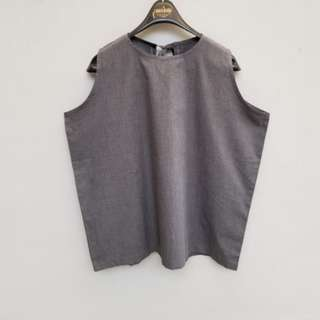 [NEW] Grey Sleeveless Top