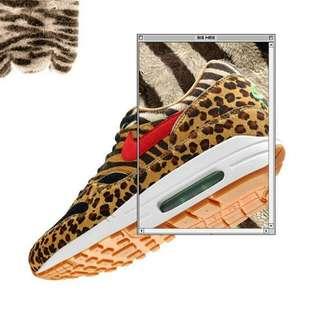 """Nike Air Max 1 x Atmos """"Safari"""""""