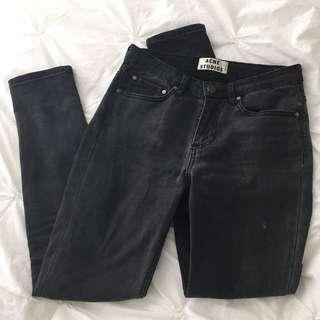Acne Studios Skin 5 Jean (Washed Black)