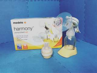 Medela Harmony Pump & Feed Set with Calma