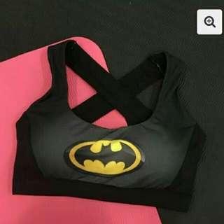 BN Superheroes sport bra