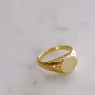 COS Signet Ring - Gold