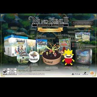 Ni No Kuni II Revenant Kingdom Collector's Edition Preorder