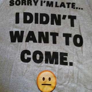 3X men's shirt (new)