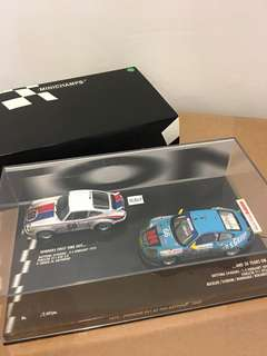 1/43 1973 Porsche 911 at 24h Daytona - 2003. Minichamps