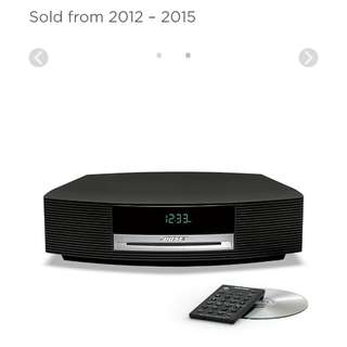 Bose Wave Soundtouch music system III 音響