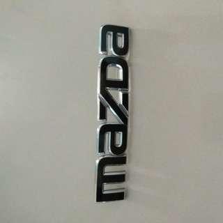 Original Mazda Emblem
