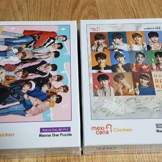 Wanna One Mexicana Chicken Puzzle