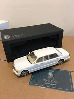 1/43 Rolls Royce Silver Seraph. Pearl White.