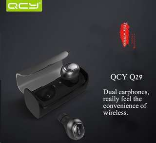 QCY Q29 Bluetooth Earphone Wireless 3D Stereo Headphone (Free Mailing)