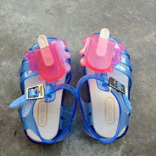 Jelly shoes/sandals ice cream