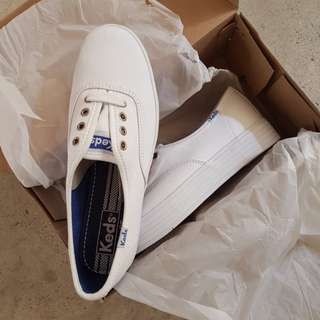 Keds triple sole in white sneakers eu 37 UK 4