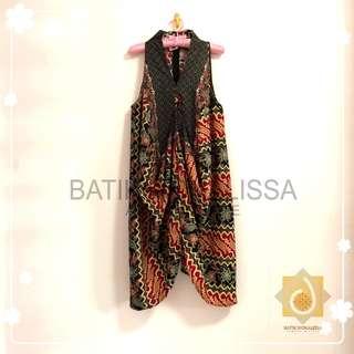 Batik Dress in Premium cotton dobby
