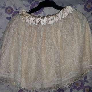 Ladies Skirt LACE