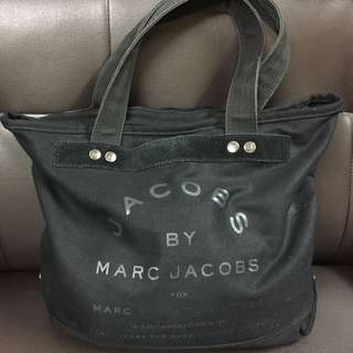 Marc By Marc Jacobs canvas bag 帆布袋 可上膊