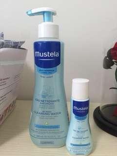 Mustela No Rinse Cleansing Water 300ml + 50ml