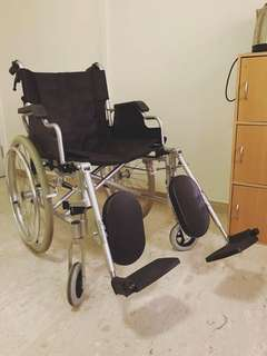 Almost new Wheelchair (used less than 1month)