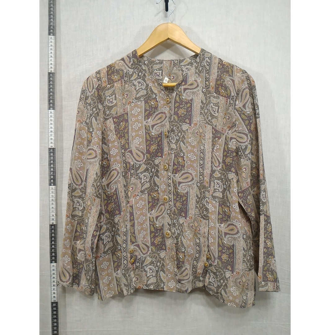 11118142-Antique long-sleeved shirt古著長袖襯衫